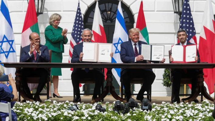 8856382 5386 3033 27 134 - فتش عن الاقتصاد والانتخابات.. كيف يستخدم ترمب اتفاقيات التطبيع مع إسرائيل؟
