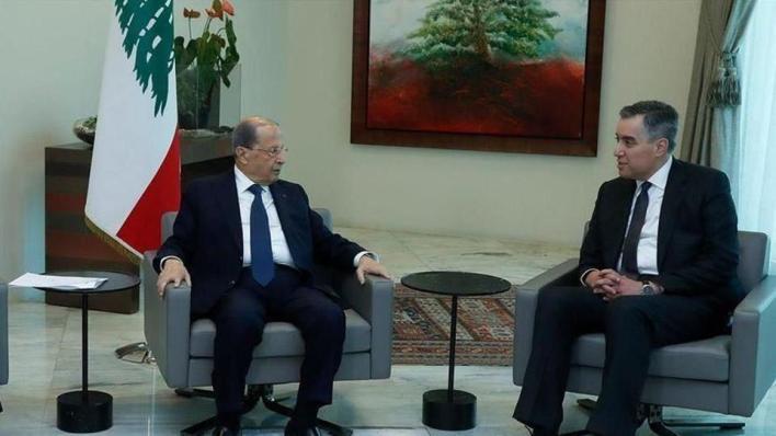 رئيس الوزراء اللبناني المكلف مصطفى أديب يقول إنه اتفق مع الرئيس عون على التريّث في مشاورات تشكيل الحكومة
