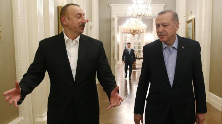 علييف أكد أن العلاقات المتينة بين أنقرة وباكو ستتطور في المرحلة القادمة وأن البلدين متعاونان في جميع القضايا