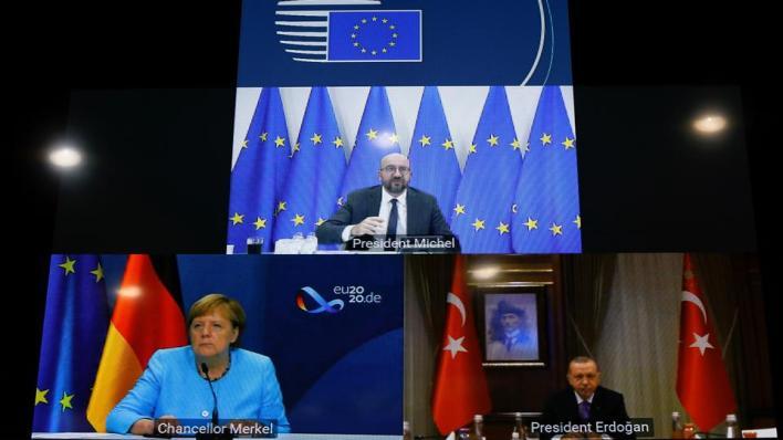 أردوغان:تعاون الاتحاد الأوروبي مع تركيا سيساهم في إيجاد حلول للمشاكل الإقليمية