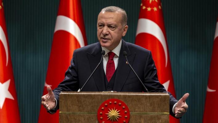 الرئيس التركي عبر عنافتخاره بالقوات البحرية التركية لما تمتلكه من تاريخ حافل بالانتصارات