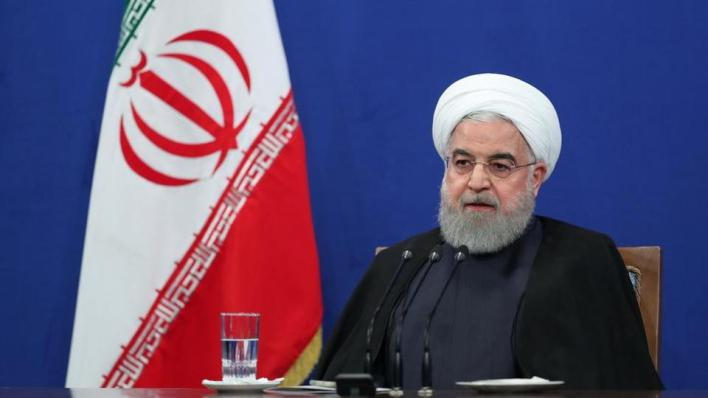روحاني: مصدر المشاكل في إيران يعود إلى سياسات الصهاينة والأنظمة الرجعية في المنطقة والولايات المتحدة