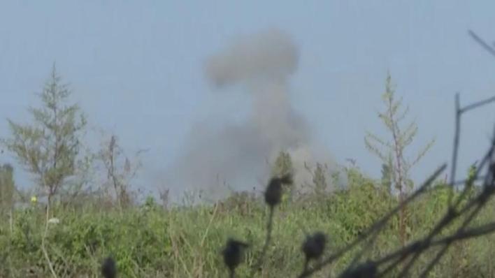 بيان وزارة الدفاع الأذربيجانية قال إن النيران الأرمينية أوقعت خسائر في الأرواح بين المدنيين بجانب إلحاق دمار كبير في البنية التحتية