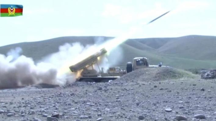 الكتيبة الرابعة للقوات المسلحة الأرمينية في منطقة فضولي تعرضت لقصف مدفعي كثيف من قبل الجيش الأذربيجاني