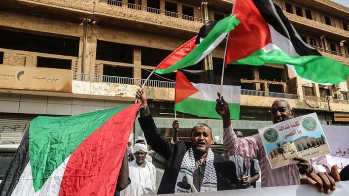 العاصمة السودانية شهدت الأشهر الماضية عدداً من الوقفات والمظاهرات الرافضة للتطبيع مع إسرائيل