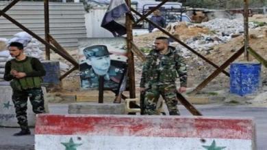 صورة في سابقة جديدة.. هجوم بالسلاح الأبيض على حاجز لقوات الأسد بدمشق