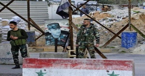 9b87394c08a0ad1be145180e1cff2125 xl - في سابقة جديدة.. هجوم بالسلاح الأبيض على حاجز لقوات الأسد بدمشق