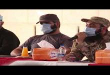 """صورة جانب من مؤتمر لقيادات غرفة عمليات """"الفتح المبين"""" حول الوضع العسكري في الشمال السوري المحرر ( فيديو)"""