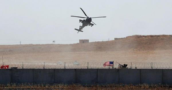 "mrwhy mryky - أنباء عن تحطم مروحية أمريكية شمال شرقي سوريا.. و""التحالف الدولي"" يعلق"