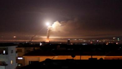 """صورة مقاتلات إسرائيلية تنتهك """"سيادة الأسد"""".. وتقصف مواقع إيرانية حساسة في سوريا"""