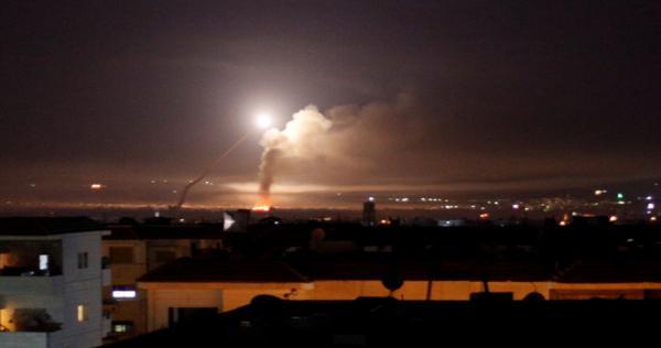 "qsf hlb 0 - مقاتلات إسرائيلية تنتهك ""سيادة الأسد"".. وتقصف مواقع إيرانية حساسة في سوريا"
