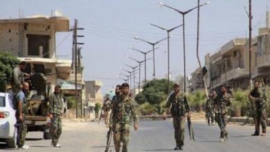 صورة عبوة ناسفة تحصد مجموعة من قوات الأسد شرق حمص