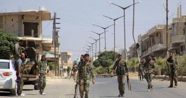 qwt lsd fy qry qzhl ryf hms 933x445 - عبوة ناسفة تحصد مجموعة من قوات الأسد شرق حمص