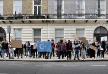 صورة لندن.. وقفة احتجاجية ضد ممارسات الصين بحق مسلمي الأويغور
