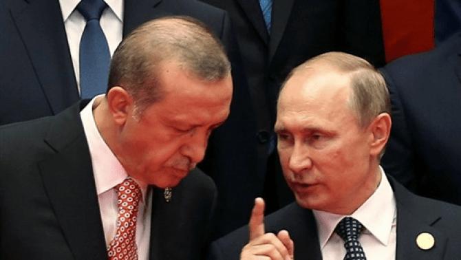 اردوغان - الرئاسة التركية تكشف فحوى حديث هاتفي بين الرئيس التركي ونظيره الروسي