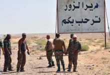 """صورة مجهولون يستهدفون رتلاً للقوات الأمريكية في بلدة """"الصبحة"""" بريف دير الزور"""