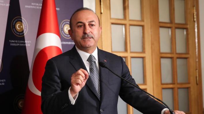 وزير الخارجية التركي مولود جاوش أوغلو يدعو لإقراندعوة وقف إطلاق النار في قره باغ بانسحاب القوات الأرمينية منه