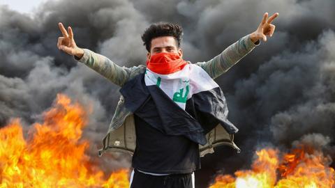 1601551708 5336804 2970 1672 14 246 - العراق.. مظاهرات لإحياء الذكرى الأولى للحراك الشعبي تطالب بإصلاحات سياسية