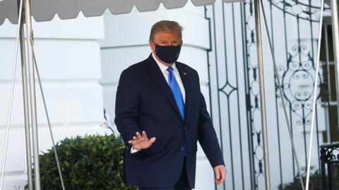 1601920115 9090795 5713 3217 28 191 - البيت الأبيض يعلن تحسُّن صحة ترمب ويتوقع مغادرته المشفى