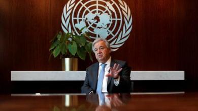 صورة غوتيريتش يوجه ثلاث رسائل لحل الأزمة الليبية