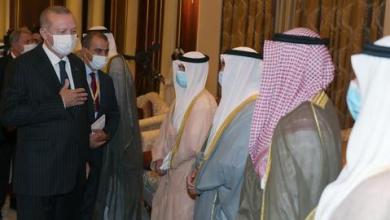 صورة خلال زيارة رسمية.. أردوغان يعزّي أمير الكويت في وفاة سلفه