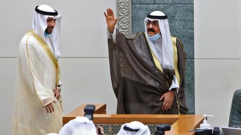 1602148859 9158633 2962 1668 29 47 - الكويت.. ولي العهد يؤدي اليمين الدستورية ويتعهد بالحفاظ على التزامات بلاده