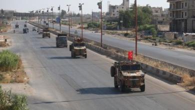 صورة نظام الأسد يقف وراء احتجاجات حول نقاط المراقبة التركية بإدلب