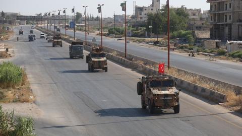 1602432143 4477280 4559 2567 23 248 - نظام الأسد يقف وراء احتجاجات حول نقاط المراقبة التركية بإدلب