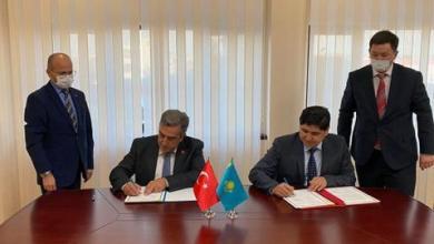 صورة تركيا وكازاخستان توقعان وثيقة تعاون في مجال الفضاء