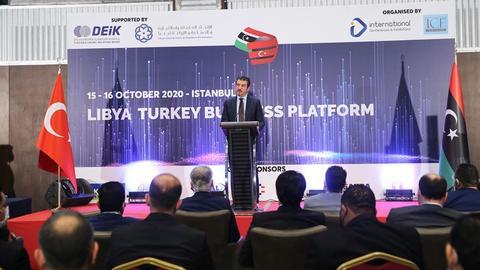 1602797862 9247319 854 481 4 2 - انطلاق أعمال المنتدى الاقتصادي التركي-الليبي الأول بإسطنبول