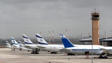 """صورة موقع """"واللا"""" العبري: طائرة إسرائيلية تحط بالخرطوم"""