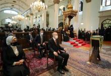 صورة أردوغان يشارك بتشييع جنازة برلماني تركي من أصل أرميني