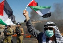 صورة تنديد شعبي عربي ورسمي فلسطيني بتطبيع السودان