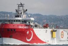"""صورة تركيا تمدد عمليات سفينة """"أوروتش رئيس"""" شرقي المتوسط"""