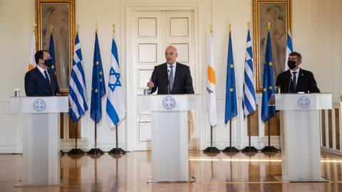 1603814190 9374397 5086 2864 30 496 - إسرائيل تسعى إلى تشكيل تحالف إقليمي مع اليونان وجنوب قبرص