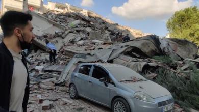 صورة زلزال بقوة 6.6 درجة يهز ساحل تركيا على بحر إيجه