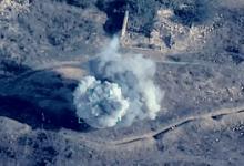 صورة شاهد.. أذربيجان تدمر منظومة صواريخ أرمينية كانت تستهدف المدنيين