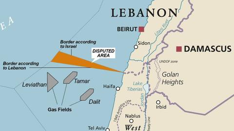 """4083495 1572 885 11 12 - مفاوضات ترسيم الحدود بين لبنان و""""إسرائيل"""".. تقنية أم سياسية؟"""