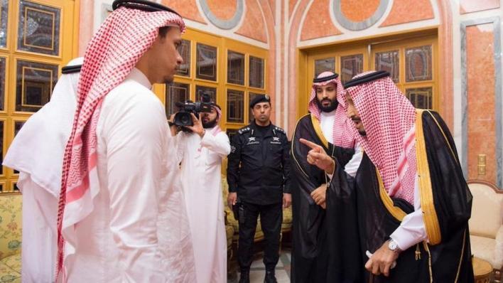 صلاح خاشقجي يلتقي الملك سلمان وولي العهد محمد بن سلمان