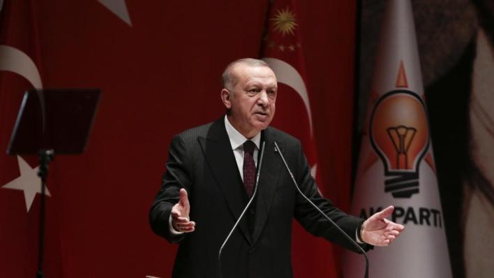 الرئيس التركي رجب طيب أردوغان يدعو الاتحاد الأوروبي للوفاء بمسؤولياته وفقاً لاتفاق الهجرة المبرم عام 2016