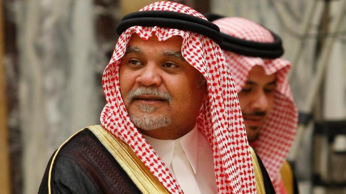 اتهم بندر بن سلطان غزة