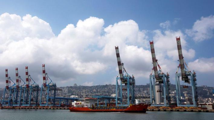 يوم الاثنين المقبل تصل أول سفينة إماراتية إلى ميناء حيفا