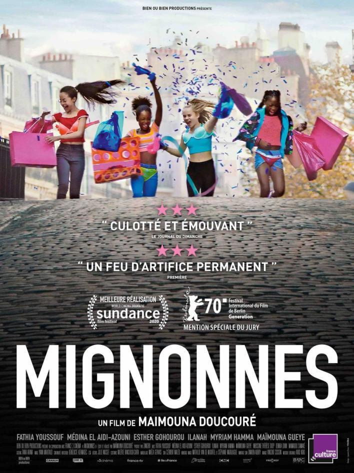 أثار الفيلم الفرنسي Cuties ضجة كبيرة بسبب ما عرضه منمشاهد راقصة ذات إيحاء جنسي لفتيات قاصرات