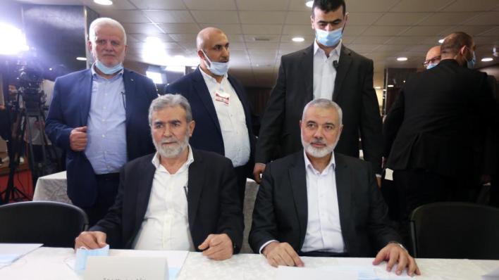 حماس تدعو لحوار فلسطيني شامل من أجل المصالحة