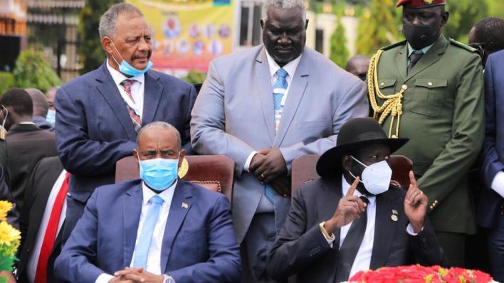 توقيع اتفاقية السلام في جنوب السودان