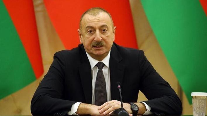 الرئيس الأذربيجاني إلهام علييف يقول إن بلاده ستعيد بناء جميع المدن المحررة