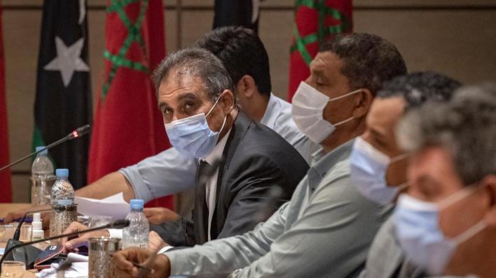"""9144036 5132 2890 25 213 - توقيع مسودة """"اتفاق المناصب"""" بين الأطراف الليبية في المغرب"""