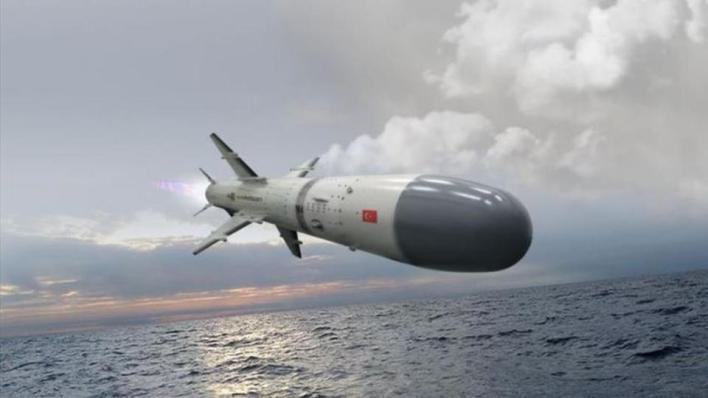 شركة روكيتسان التركية تسلم أول صاروخ كروز بحري محلي الصنع نهاية 2020