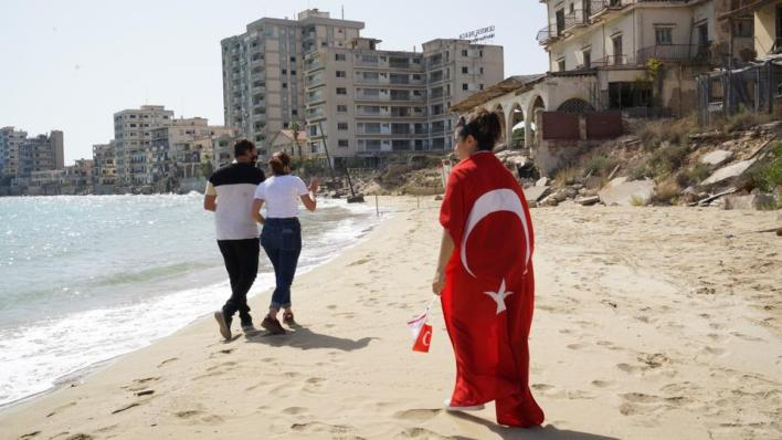 قبرص التركية تفتتح منطقة