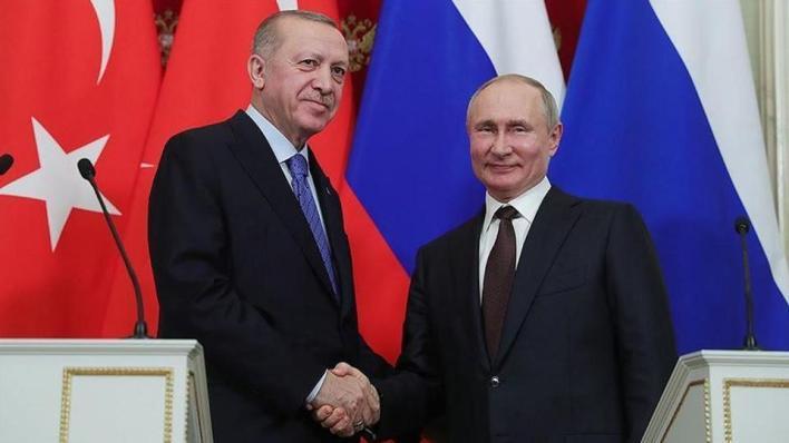 أردوغان يؤكّد لبوتين أن تركيا تدعم حلاً سياسياً لمشكلة إقليم قره باغ الأذربيجاني المحتل أرمينيّاً